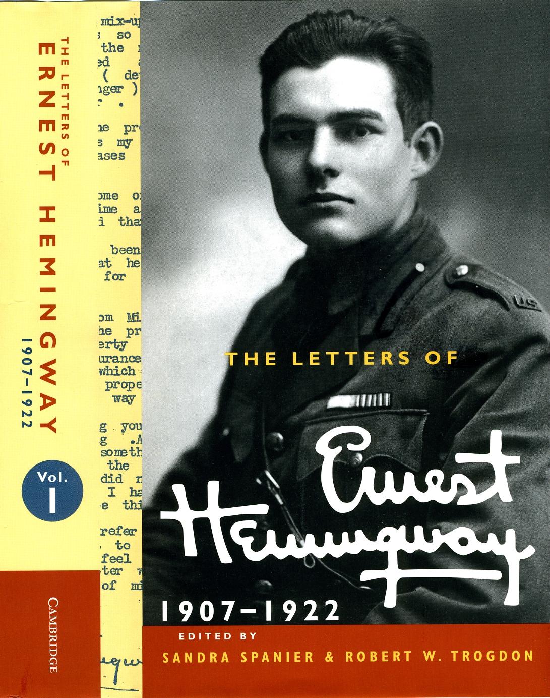 Letters of Ernest Hemingway Vol 1