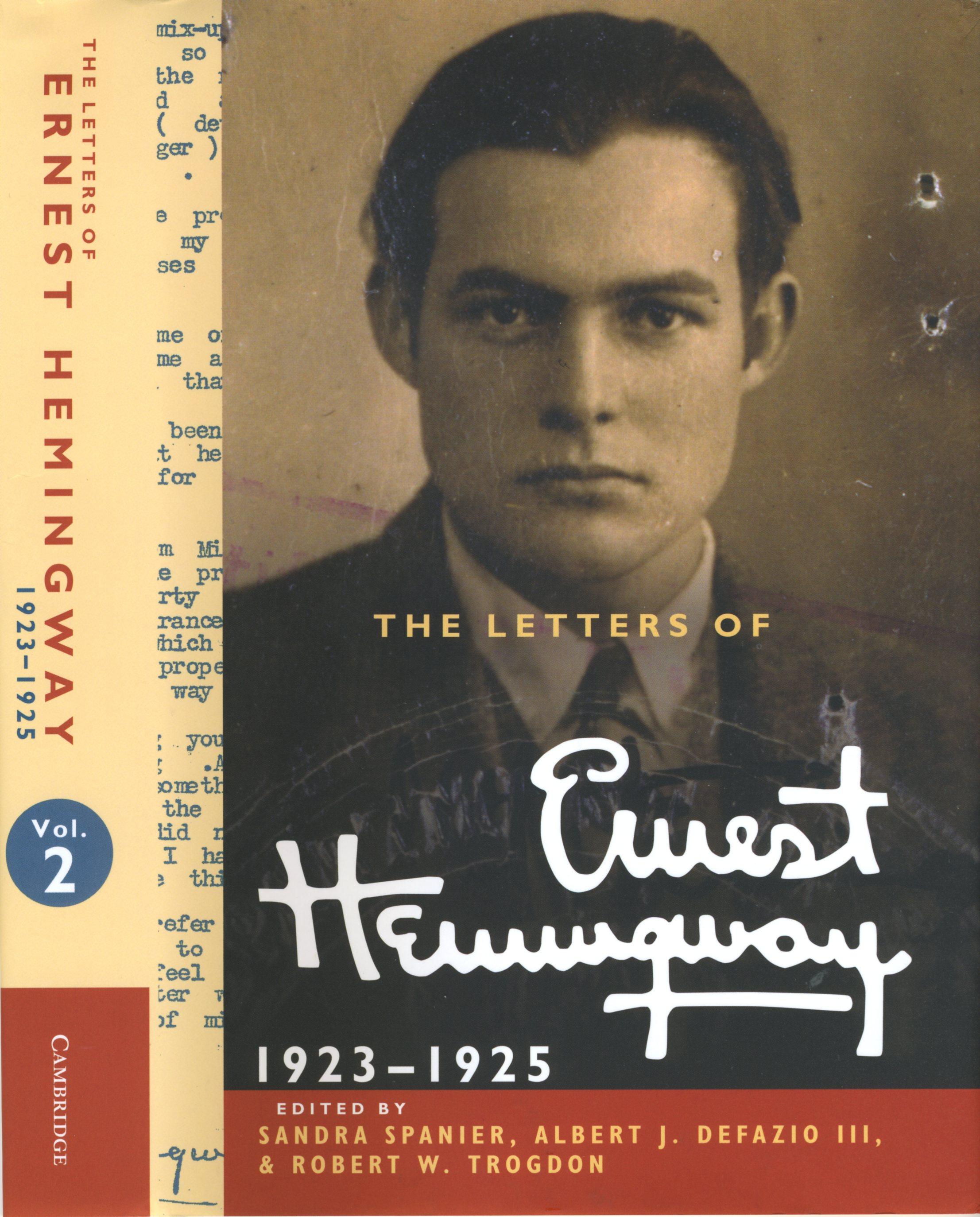 Letters of Ernest Hemingway Vol 2
