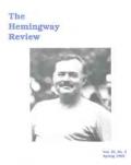 The Hemingway Review Vol.11 No.2 Spring 1992