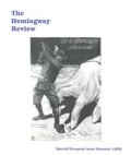 The Hemingway Review Vol.11 No.3 Summer 1992