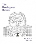 The Hemingway Review Vol.3 No.1 Fall 1983