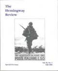 The Hemingway Review Vol.9 No.1 Fall 1989