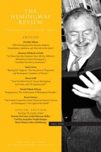 Swiping Stein Hemingway parodies' ambivalence.