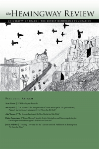 The Hemingway Review Vol.34 No.1 Fall 2014