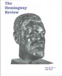 The Hemingway Review Vol.11 No.1 Fall 1991