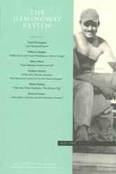 The Hemingway Review Vol.23 No.1 Fall 2003