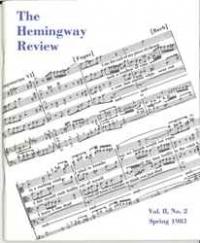 The Hemingway Review Vol.2 No.2 Spring 1983