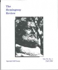 The Hemingway Review Vol.6 No.1 Fall 1986