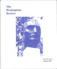 The Hemingway Review Vol.6 No.2 Spring 1987