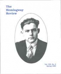 The Hemingway Review Vol.8 No.2 Spring 1989