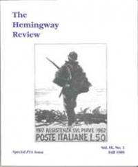 The Hemingway Review Vol.9 No.1 Fall 1989